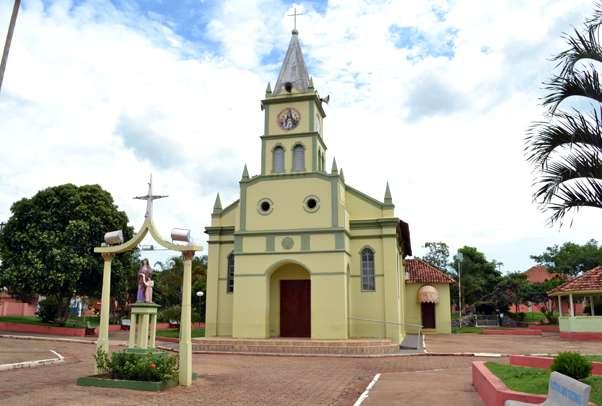 Paróquia Sant'Ana e São Benedito
