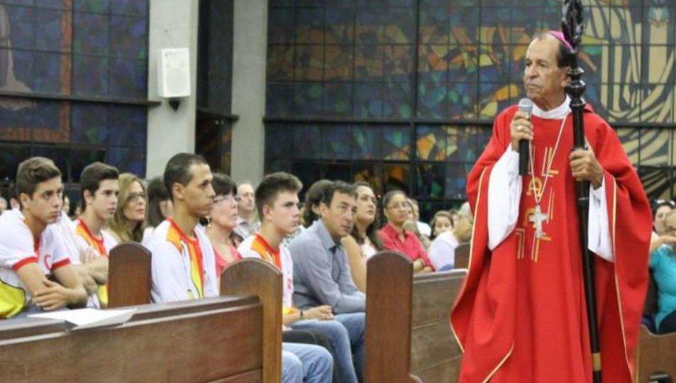 Celebração da Crisma na Paróquia Santa Cruz em Matão