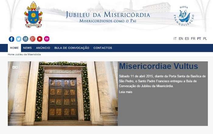 Conselho Pontifício lança site oficial do Jubileu da Misericórdia