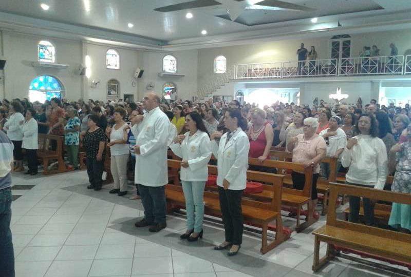 Fiéis de São Carlos celebram o dia de Santa Rita