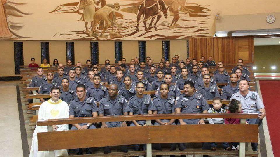 Missa em ação de graças pela formação de 60 Soldados Militares