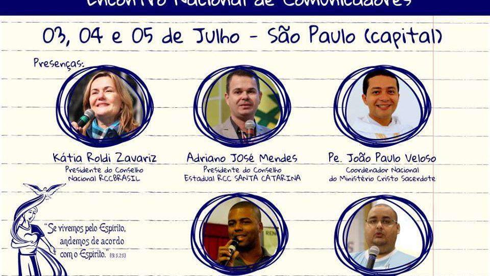 RCC promove Encontro Nacional de Comunicação em São Paulo