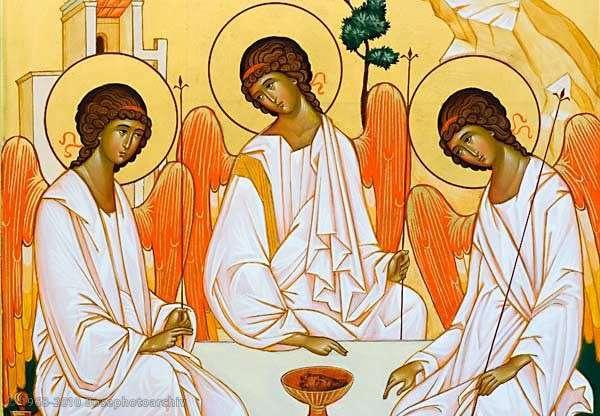 Reunidos na unidade do Pai e do Filho e do Espírito Santo