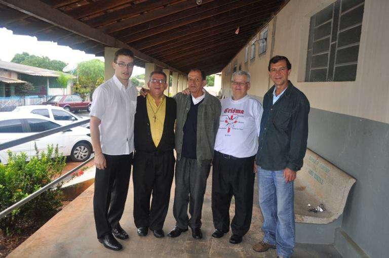 Dom Paulo visita o Centro de Evangelização de Borborema
