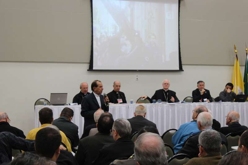 Bispos do Regional Sul 1 abrem 78º Assembléia Ordinária em Aparecida