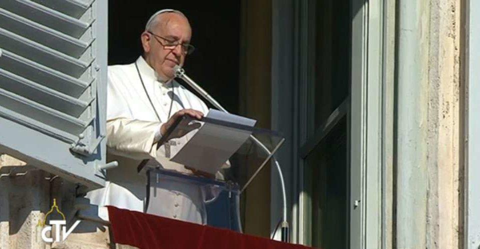 Jesus sacia fome de sentido da vida, explica Papa