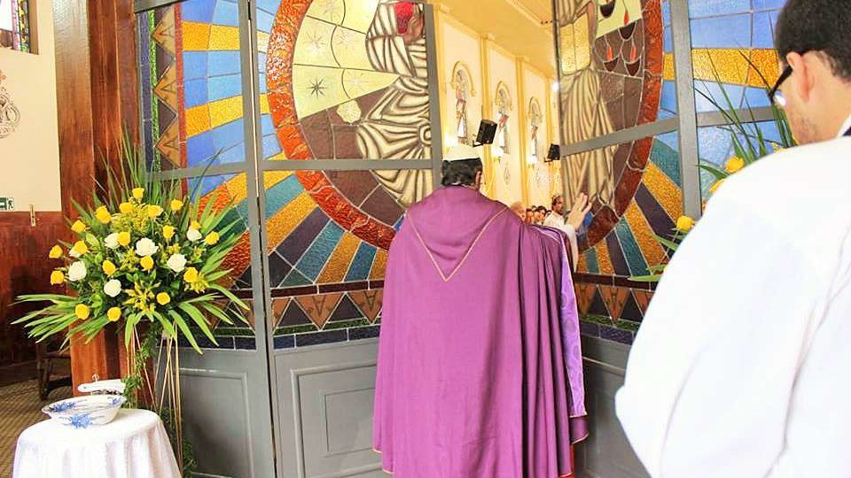 Abertura da Porta Santa no Santuário São Pio X