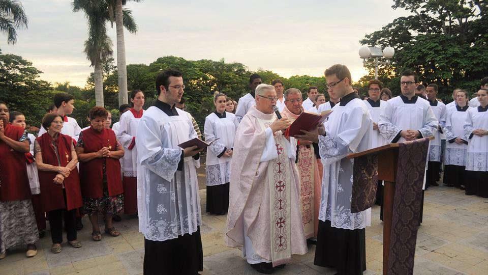 Comemoração dos 24 anos de ordenação presbiteral do padre Pedro Gardini