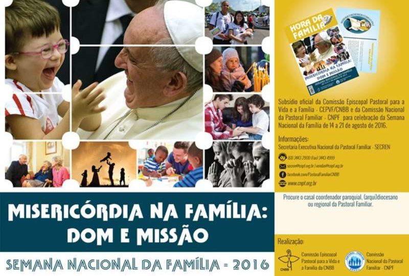 """Comissão divulga subsídio """"Hora da Família"""" 2016"""