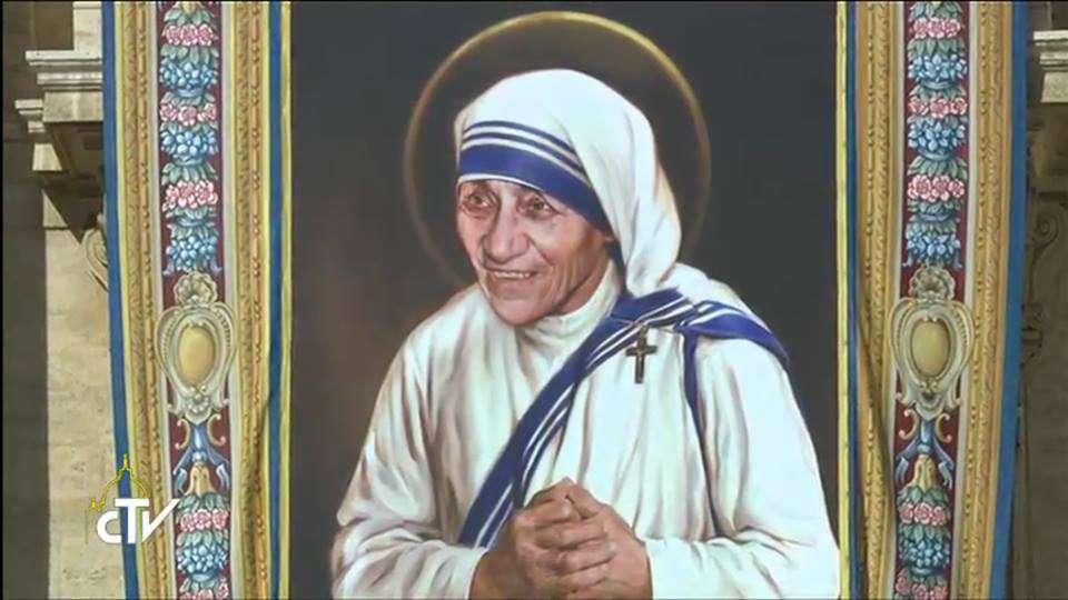 Canonização de Madre Teresa
