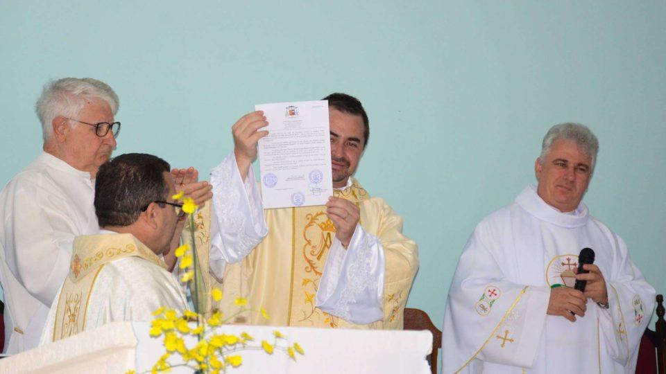 Pe. Márcio Pekin assume como Administrador Paroquial em paróquia de Ibaté