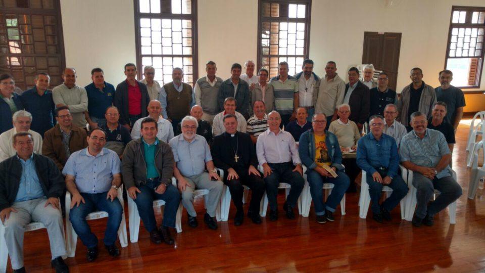 Diáconos Permanentes da Diocese se reuniram em retiro