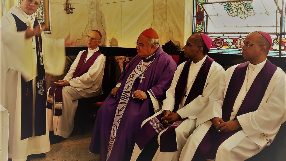 Dom Paulo Cezar recebe visita de Cardeal do Rio de Janeiro