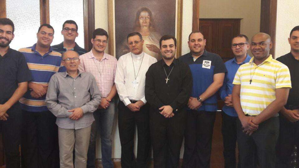 Seminaristas do 3º ano da Teologia em Retiro