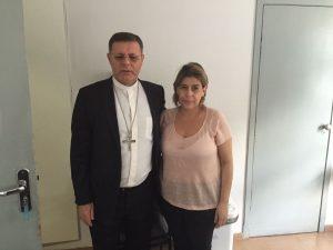 Dom Paulo Cezar e Ana Paula Machado