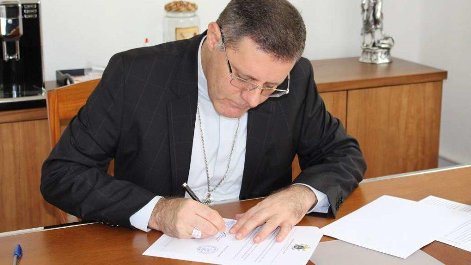 Dom Paulo Cezar nomeia o Conselho de Presbíteros da Diocese de São Carlos