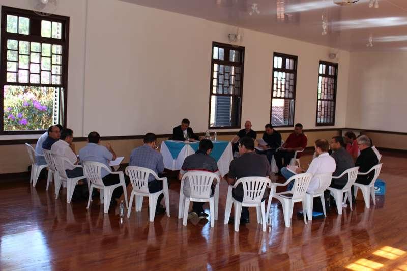 Reunião com representantes das Regiões Pastorais