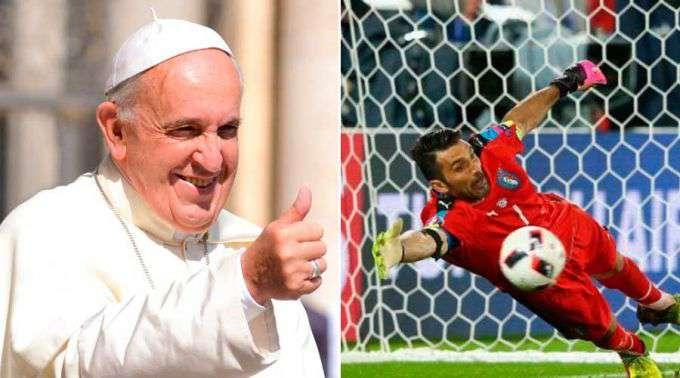Qual a semelhança entre a posição de goleiro e a vida? Isto é o que o Papa Francisco pensa