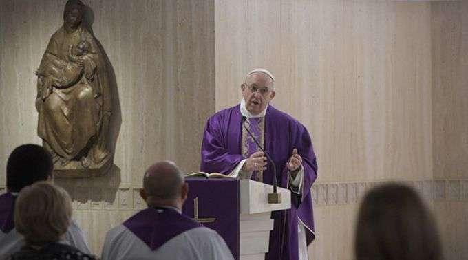 Papa Francisco: A conversão não é dada por uma fada, mas ao fazer o bem