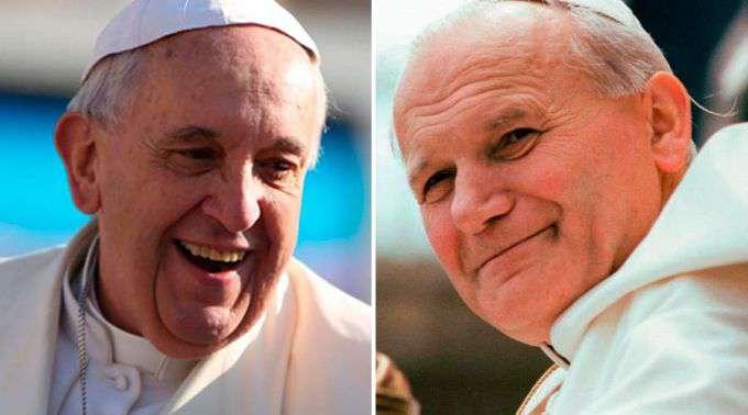 Papa Francisco narra a história do mendigo que atendeu a confissão de São João Paulo II