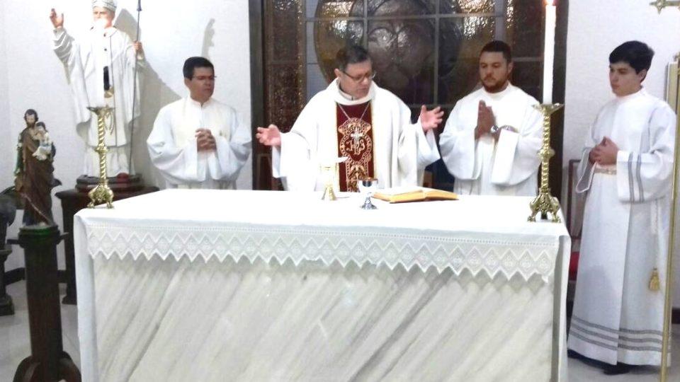Dom Paulo Visita o Seminário Maior de Filosofia João Paulo II