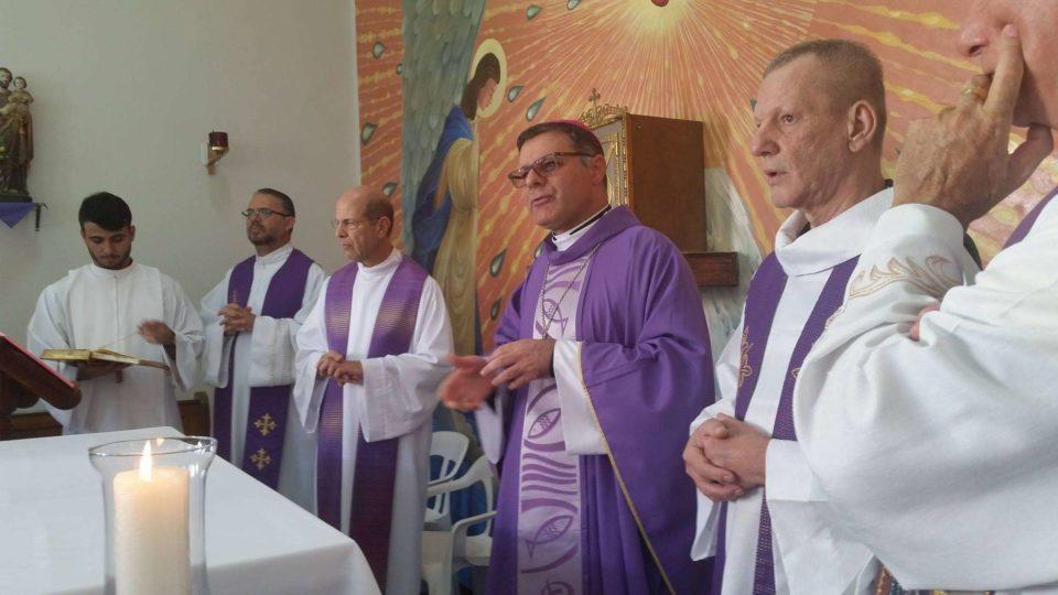 DOM PAULO NOMEIA PADRE SÉRGIO GERALDO PARAVANI CAPELÃO DO HOSPITAL CARLOS FERNANDO MALZONI