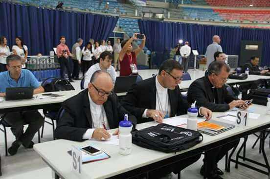 Dom Paulo Cezar participa da 55ª Assembleia Geral da CNBB em Aparecida