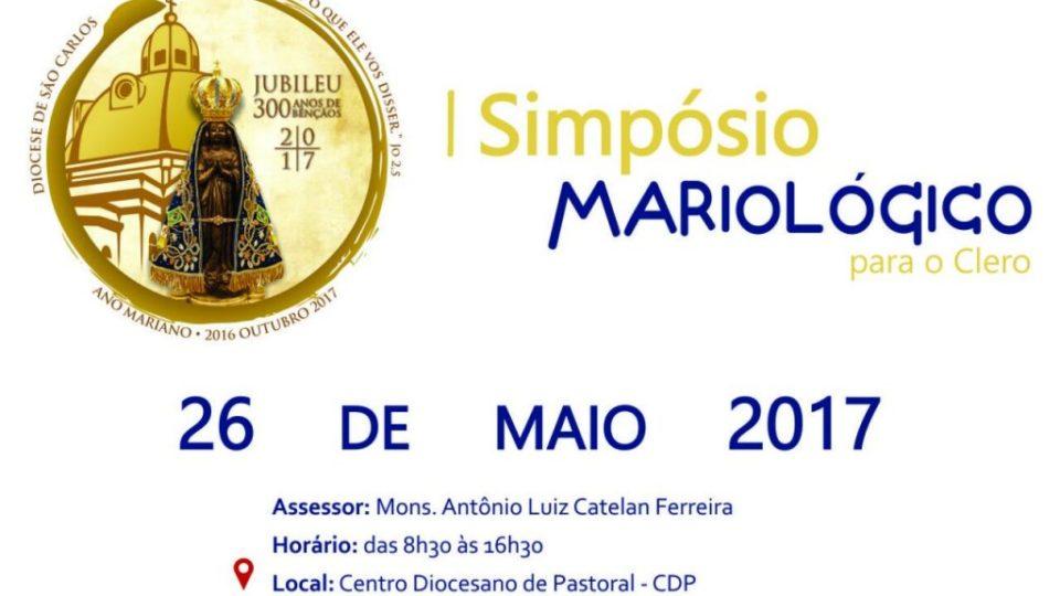 CONVITE SIMPÓSIO DE MARIOLOGIA PARA O CLERO