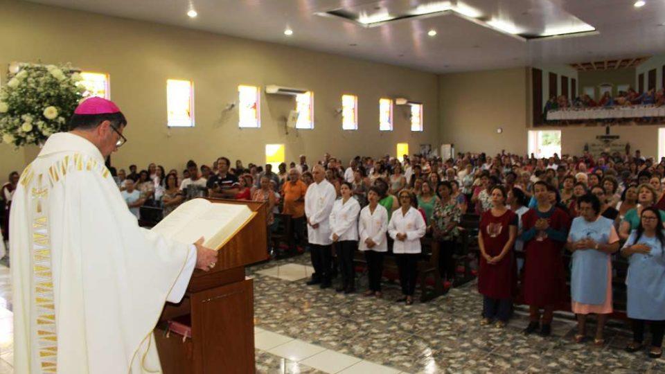 Missa em ação de graças pelo dia de Santo Expedito