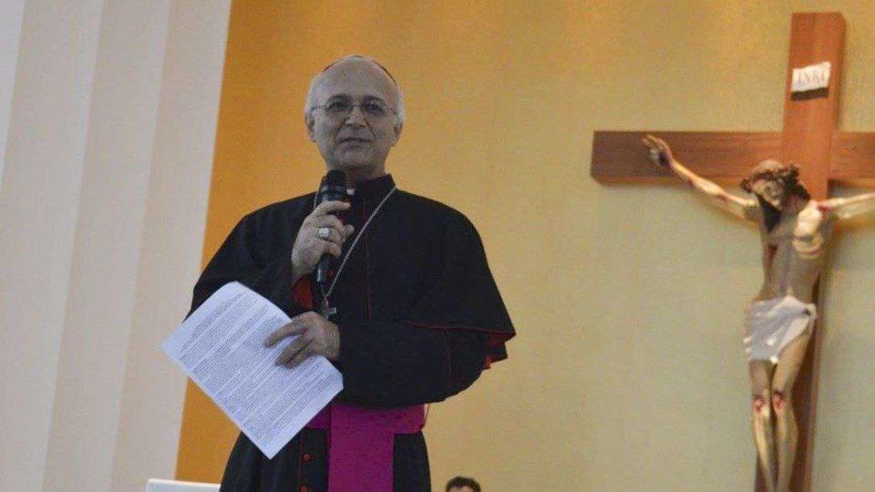 Dom Luiz Gonzaga Fechio, Bispo de Amparo, envia mensagem de condolências pelo falecimento do Monsenhor Luiz Cechinato