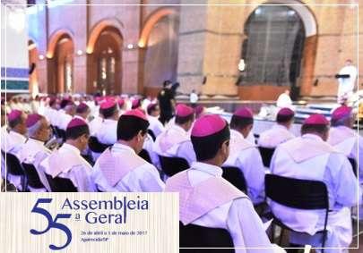 Primeira Coletiva à Imprensa da 55ª Assembleia Geral da CNBB