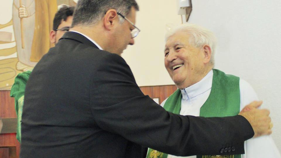 Nota informativa sobre o velório do Monsenhor Luiz Cechinato