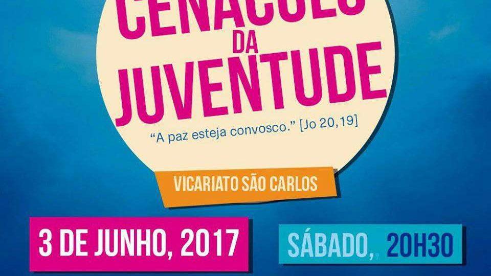 Fique ligado: Cenáculo da Juventude- Vicariato São Carlos