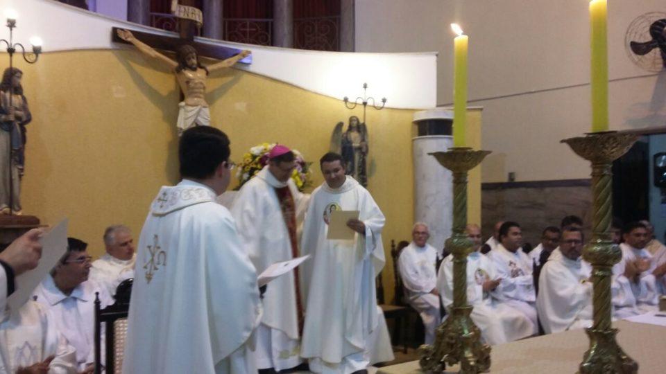 Padre Cristian é empossado Vigário Episcopal do Vicariato São Bento
