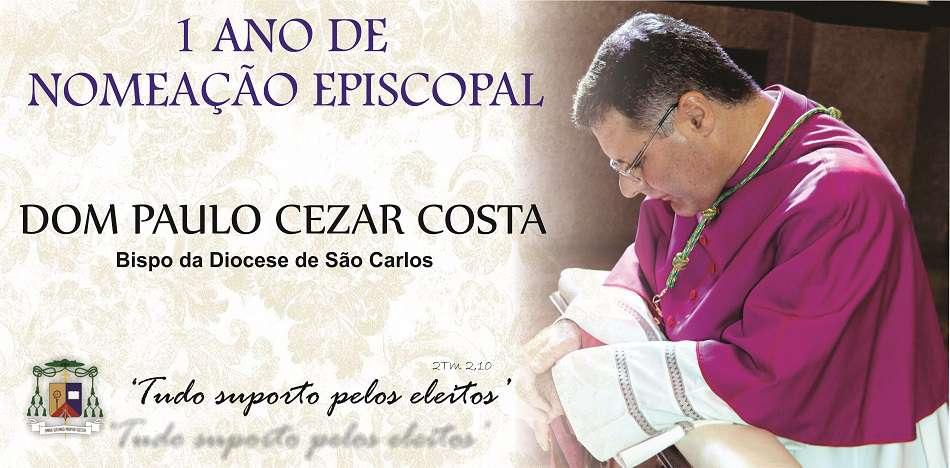 Há um ano Papa Francisco nomeava o 7° bispo de São Carlos