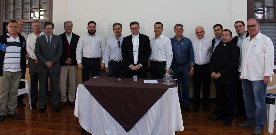 Aconteceu : Primeira reunião entre Conselho Econômico e Colégio de Consultores da Diocese