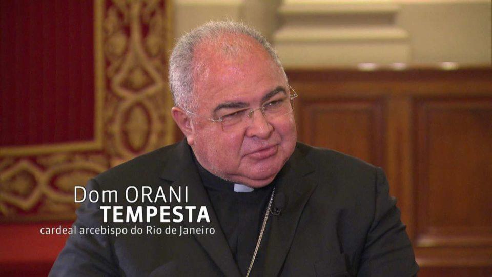 Dom Orani Tempesta, Cardeal arcebispo do Rio de Janeiro, envia felicitações para o nosso bispo
