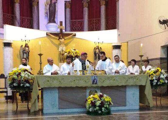 Dom Paulo Cezar celebra na Novena de Nossa Senhora do Carmo