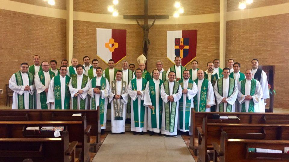 Padres da Diocese no II Módulo da Pós graduação para formadores de Seminários e Casas de Formação