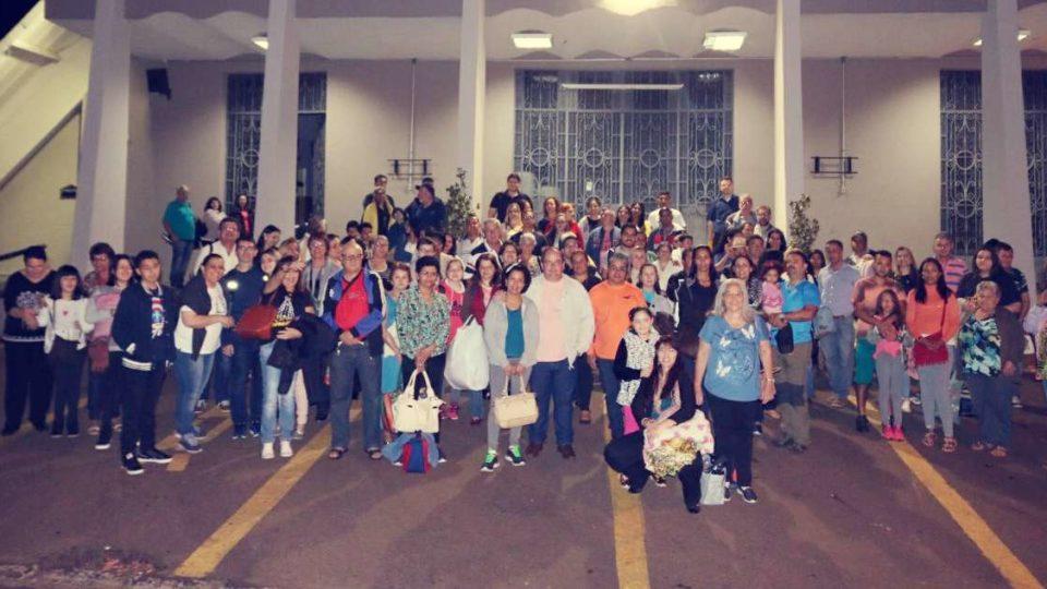 Milhares de peregrinos da Diocese de São Carlos estão a caminho do Santuário Nacional