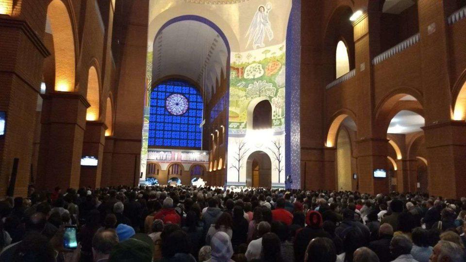 Mais de Cinco mil peregrinos da Diocese se encontram em Aparecida