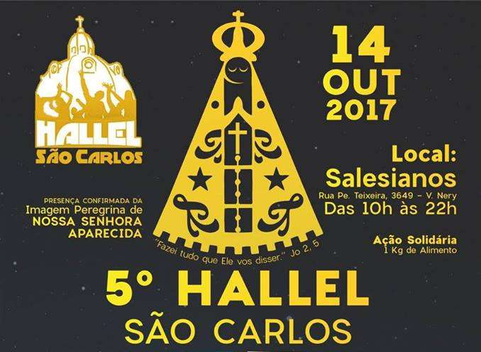 Hallel São Carlos já tem data marcada para 2017