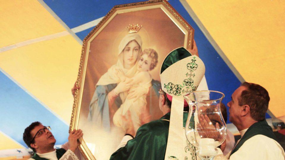 Celebração Festiva marca os 16 anos do Santuário Mãe Rainha e Vencedora Três Vezes Admirável
