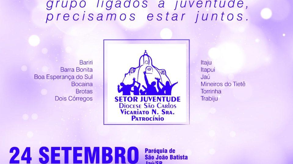 ENCONTRO DE FORMAÇÃO PARA LIDERANÇA JOVEM DO VICARIATO NOSSA SENHORA DO PATROCÍNIO