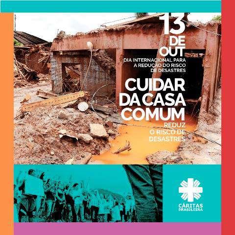 Cáritas Brasileira participa de Dia para Redução do Risco de Desastres