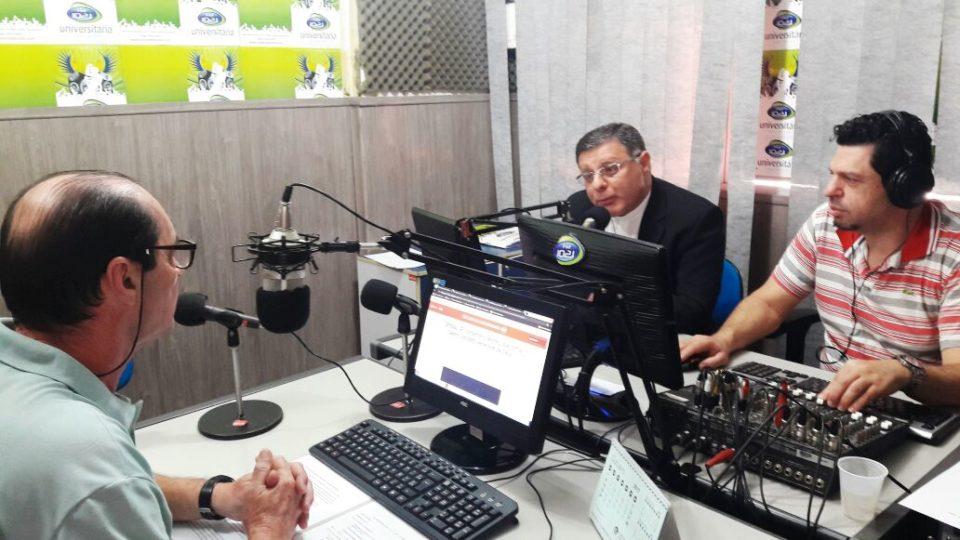 Dom Paulo Cezar fala à Rádio Universitária FM sobre os 300 anos do Encontro da Imagem de Nossa Senhora Aparecida