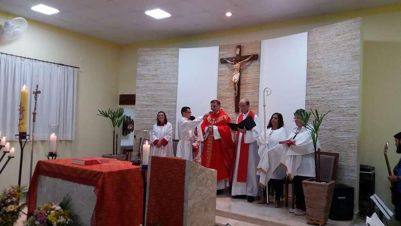 Missa do Crisma com a presença de Dom Paulo Cezar marca a posse do novo Padre da Paróquia São Brás de São Carlos