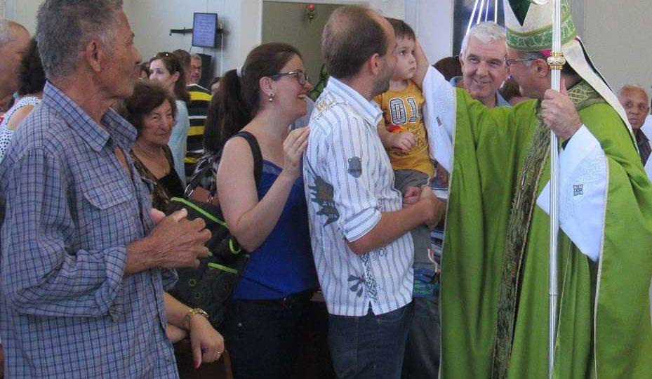 Dom Paulo Cezar preside Missa na Paróquia São Judas Tadeu em Jaú