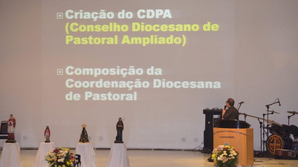 Coordenador Diocesano de Pastoral explica caminhada realizada