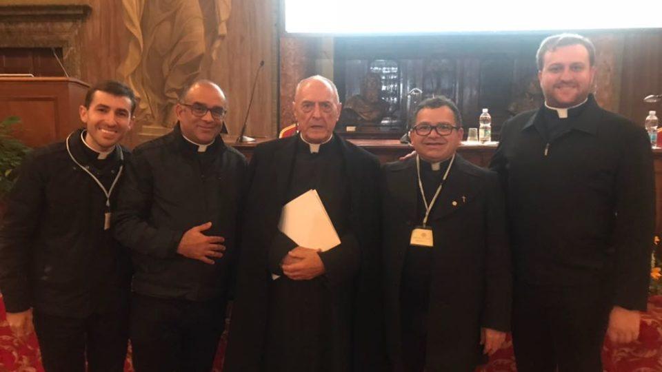 Padres da Diocese de São Carlos participam de Curso em Direito Canônico em Roma